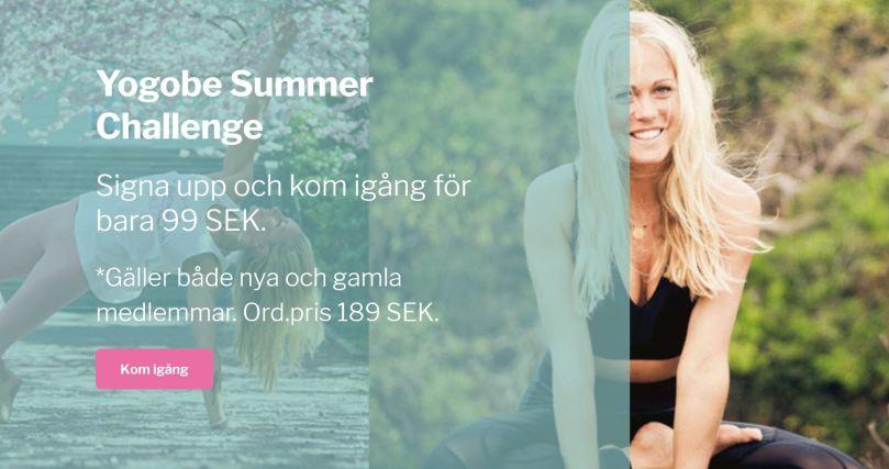 Yogobe Summer Challenge